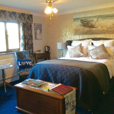 Sapphire room at Beechwood B and B